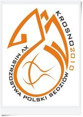Oficjalne logo Mistrzostw Polski Sędziów Krosno 2010